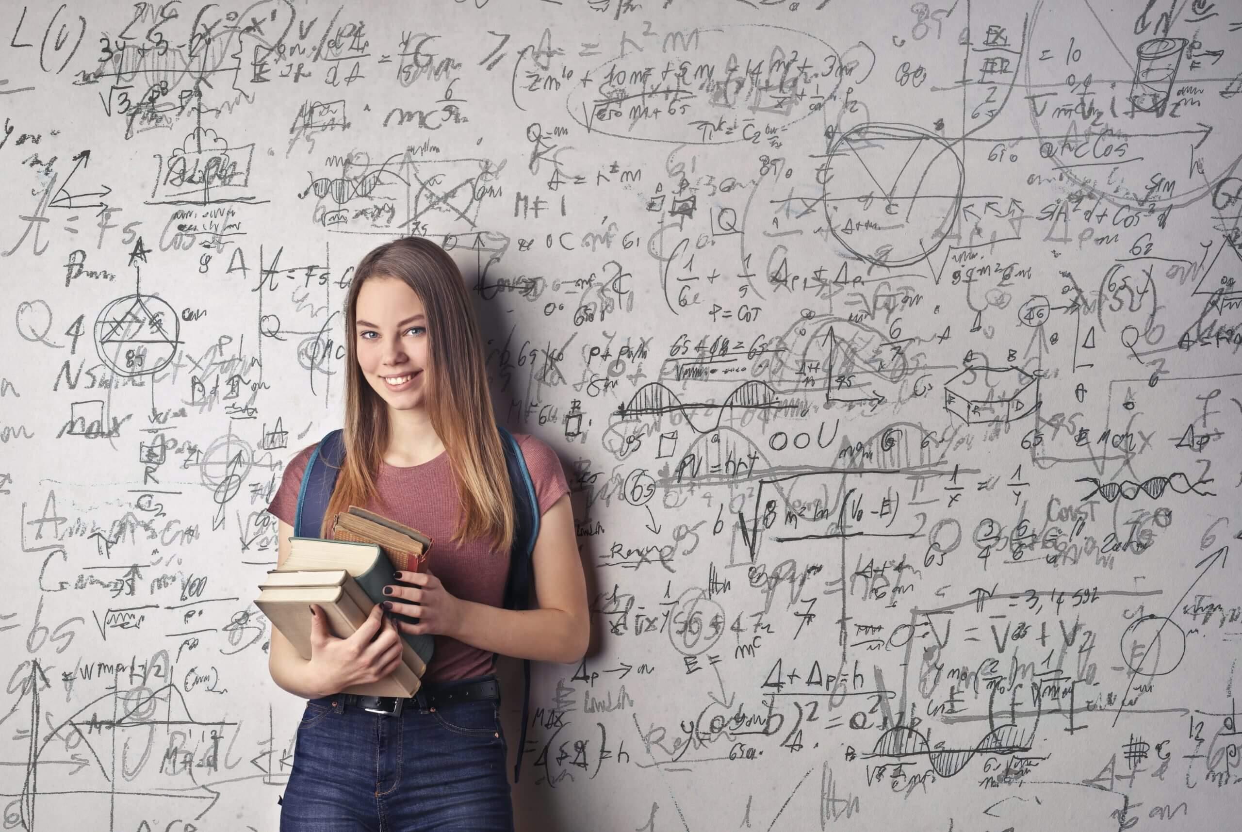 Girl taking Junior Cert Maths Grinds and Leaving Cert Maths grinds