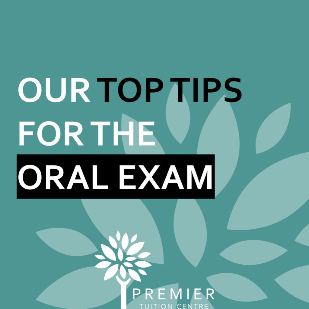 Oral Exam 1